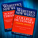 Webster's Dictionary+Thesaurus logo