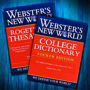 Webster's Dictionary+Thesaurus LOGO-APP點子