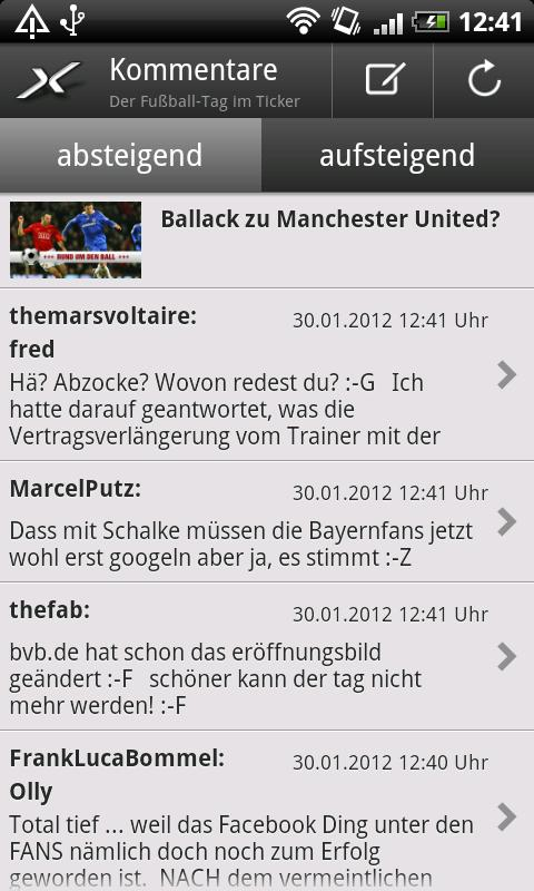 SPOX Sportnews - screenshot