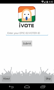 iVote - Official ECI App screenshot 1