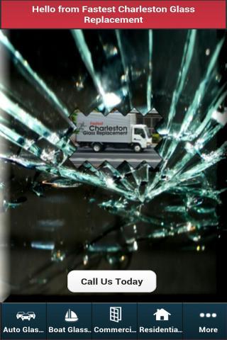 Charleston Glass Replacement
