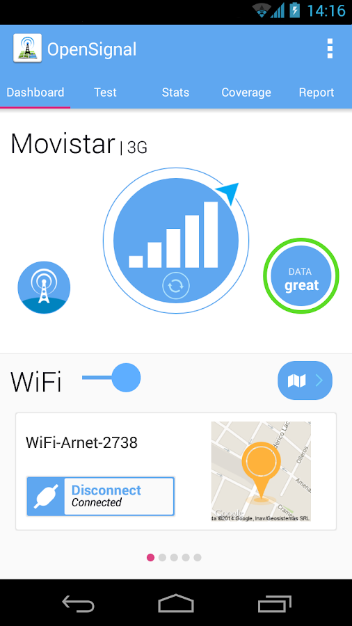 3G 4G WiFi Maps & Speed Test - screenshot