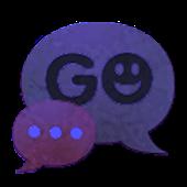 GO SMS Theme Dark Purple Buy
