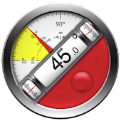 Clinometer + bubble level icon