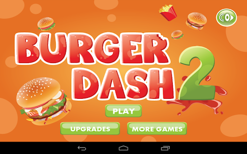Burger Dash 2