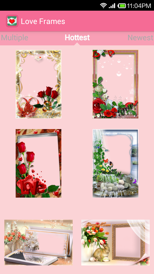 Love Frames (for Valentine) - screenshot