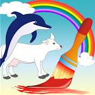 Coloring Book Animals Pro icon