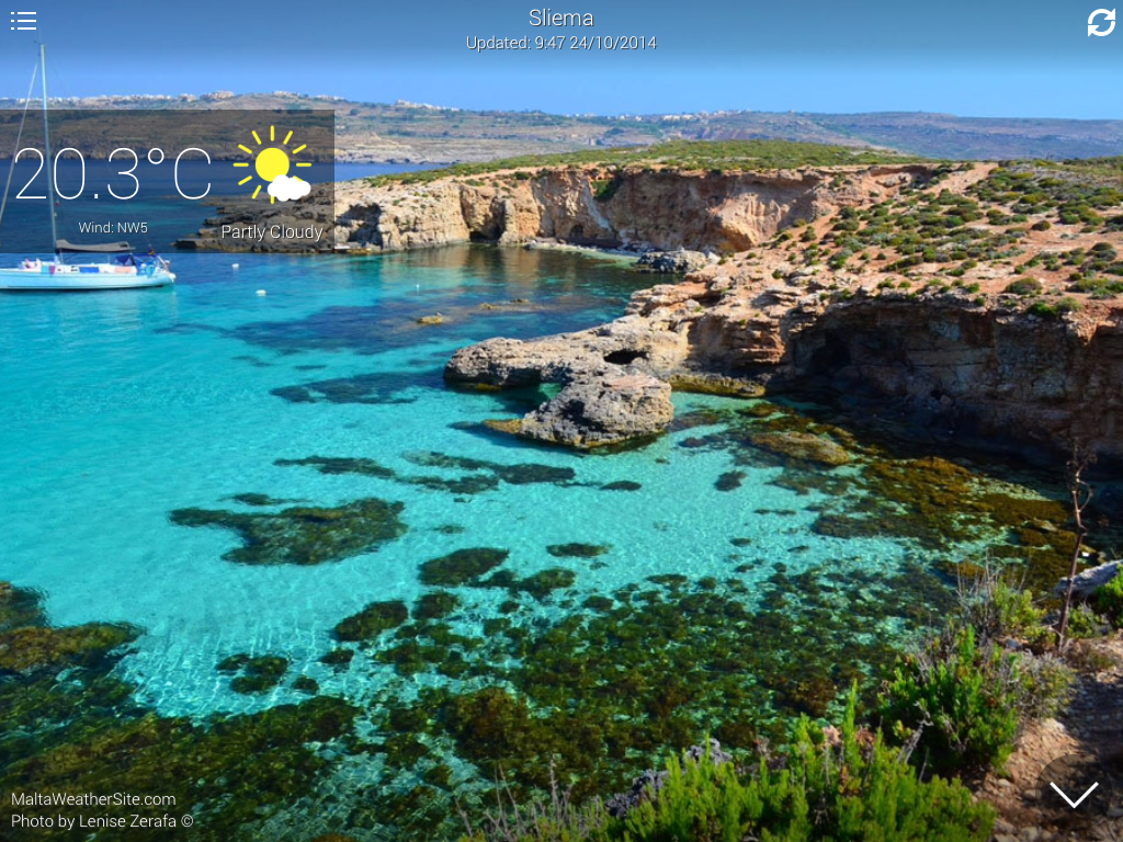 Malta Weather- screenshot