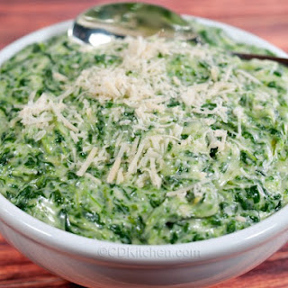 Copycat Boston Market Creamed Spinach.