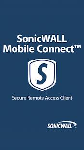 SonicWALL Mobile Connect- screenshot thumbnail