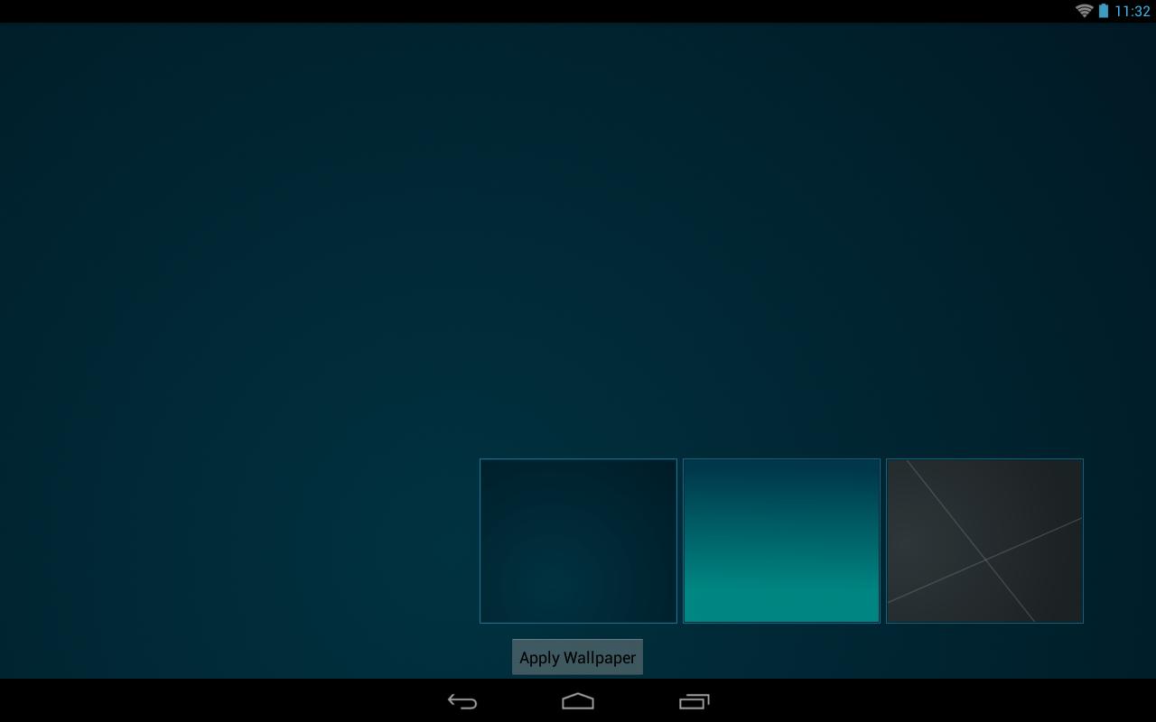 Shady Flat Apex Nova ADW Theme - screenshot