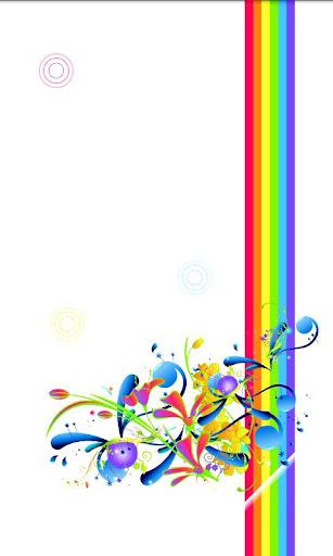 Rainbow Splash Live Wallpaper
