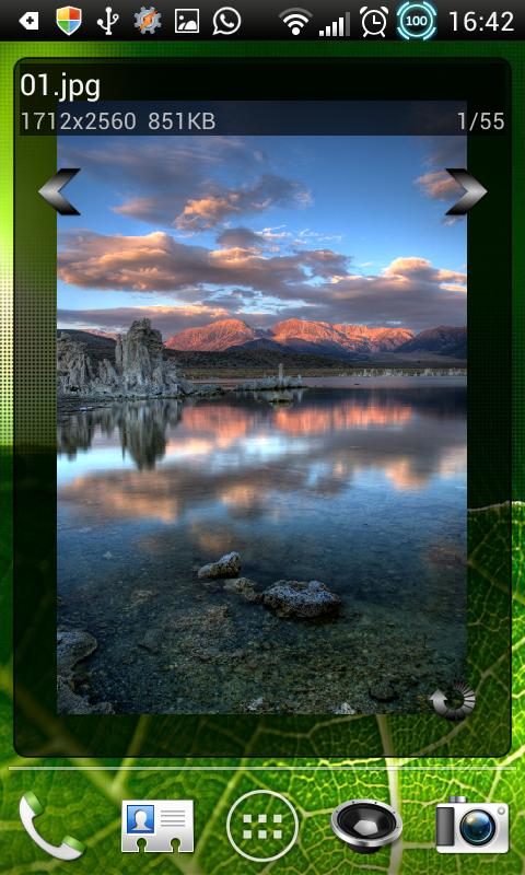 Photo Grid/Frame Widget - screenshot