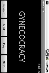 GRE Vocab Droid Lite - screenshot thumbnail
