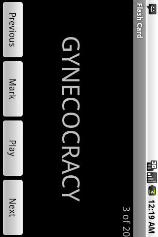GRE Vocab Droid Lite - screenshot