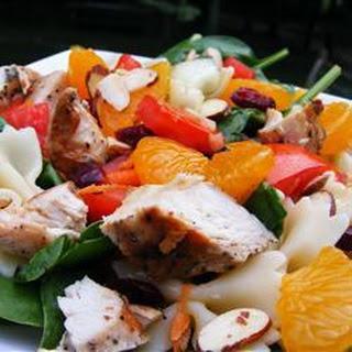 Mandarin Orange And Chicken Pasta Salad.