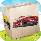 Cars 3D Puzzle Blocks