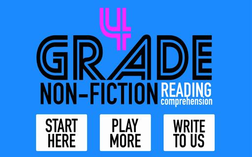 4th Grade Non-Fiction Reading