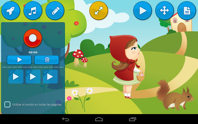 CreAPPCuentos Create stories - screenshot