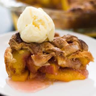 Classic Peach Pie.