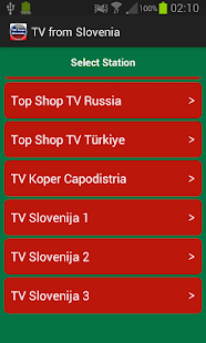 TV from Slovenia- screenshot thumbnail