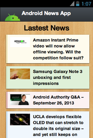 Fast Feed for Android News