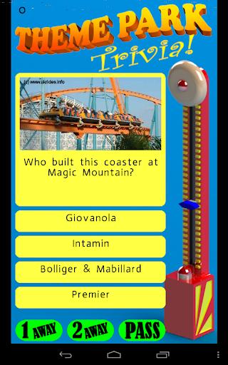 Theme Park Trivia