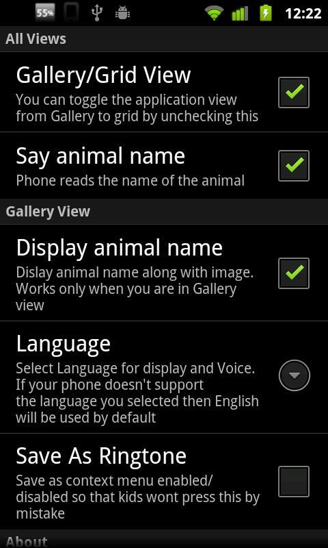 Animal Sounds & Ringtones - screenshot