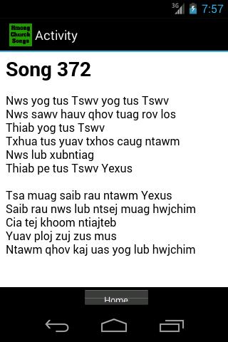 Hmong Church Song Book
