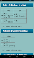 Screenshot of Italian Verbs Pro