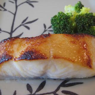 Miso Marinated Fish