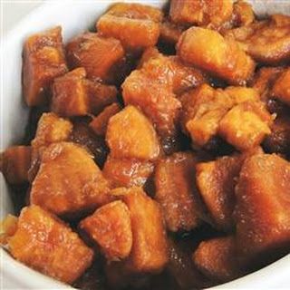 Brandied Candied Sweet Potatoes