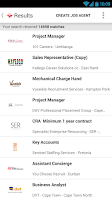 Screenshot of PNet - the JobPortal v4.0