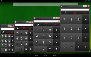 Screenshot of DarkCalc-(popup & normal calc)