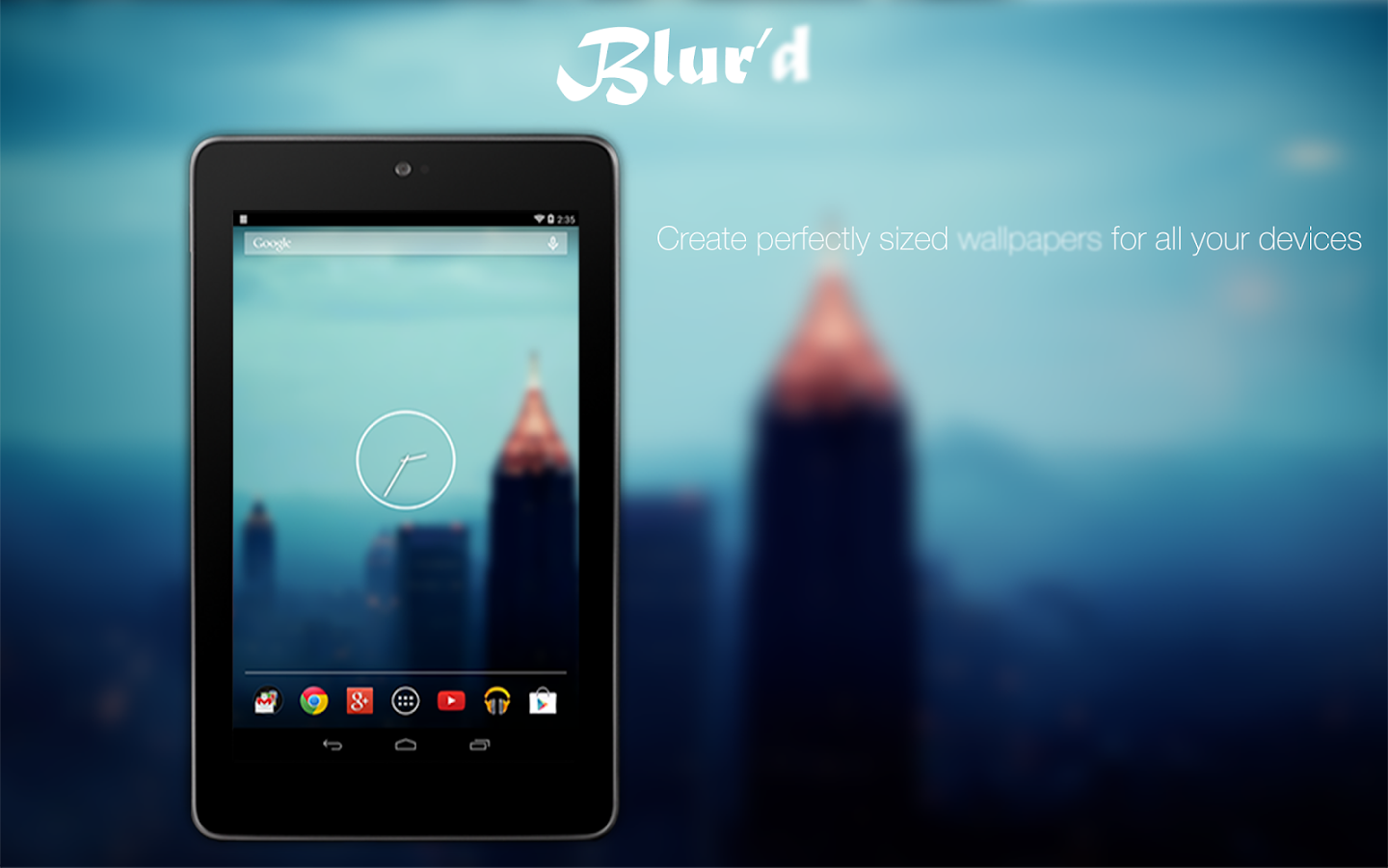 how to give blur effect in android
