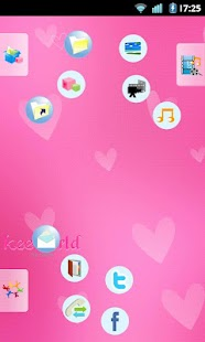 keeworld Theme: Girls Pink - screenshot thumbnail