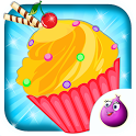 Make Cup Cakes - Kids Game icon