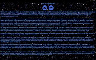 Screenshot of Astro Horoscope