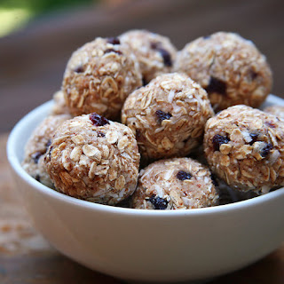 Cherry Almond Coconut Protein Balls.