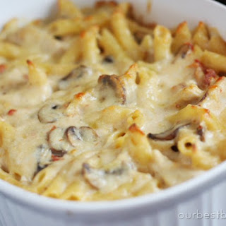 Baked Cheesy Chicken Penne