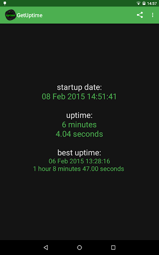 Get Uptime