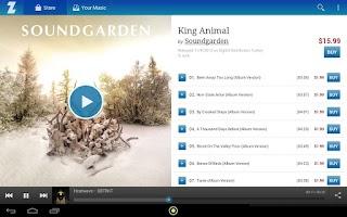 Screenshot of Zdigital Music Store