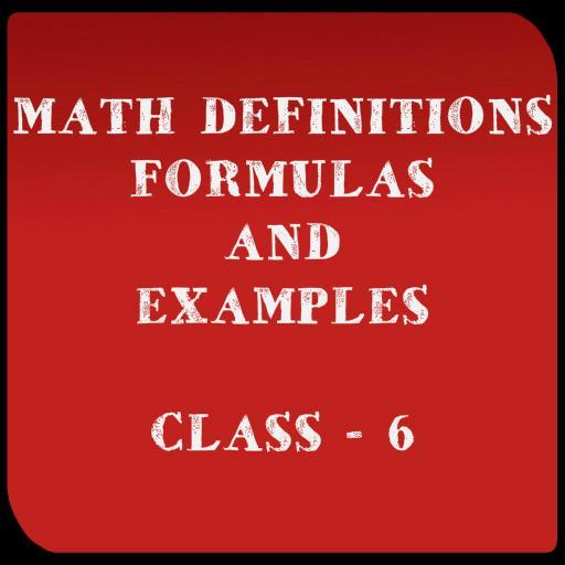 Math Formulas Examples Class 6