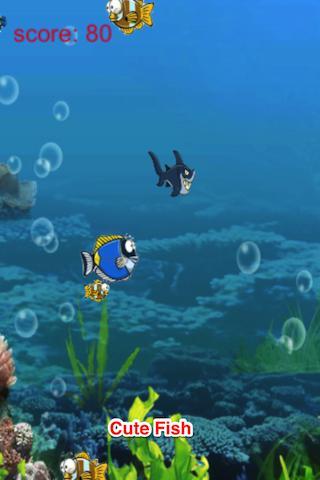 玩免費街機APP|下載卡通海洋世界:飢餓的魚 app不用錢|硬是要APP