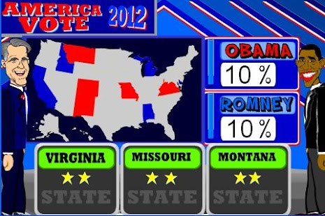 America Vote 2012- screenshot