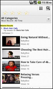 Black Hair Cafe - screenshot thumbnail