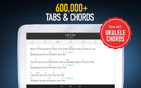 Ultimate Guitar Tabs & Chords - screenshot thumbnail