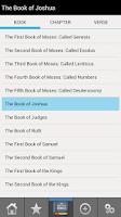 Screenshot of King James Bible PRO
