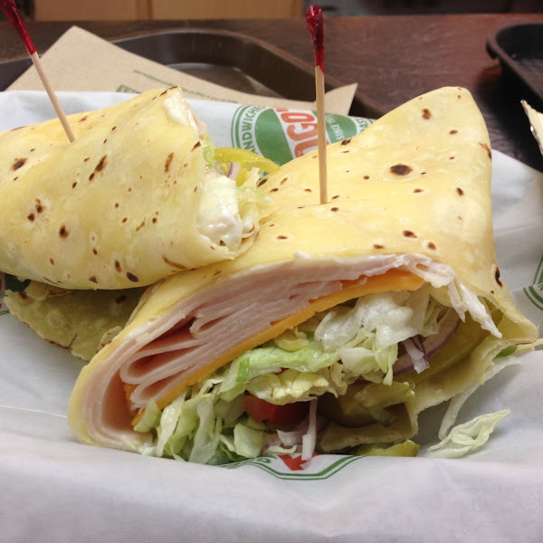 New and improved gluten free wrap