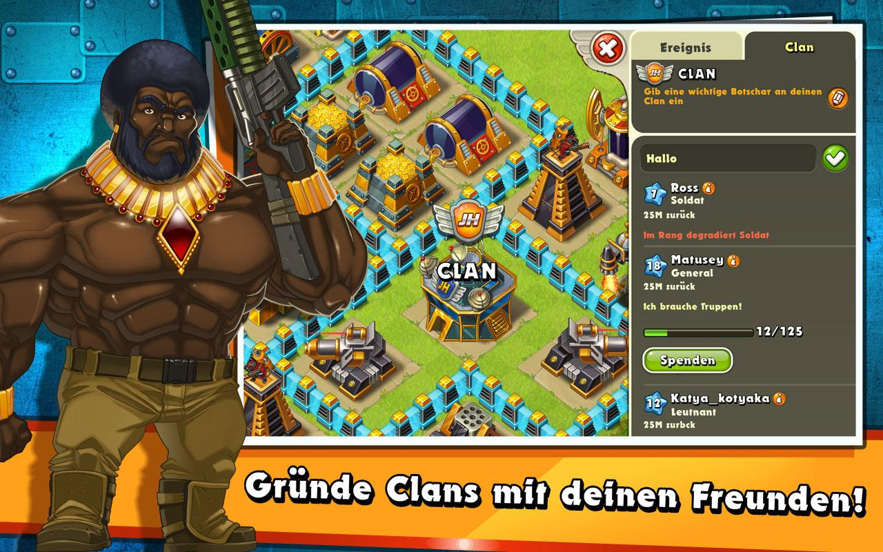 Jungle Heat: War of Clans – Screenshot